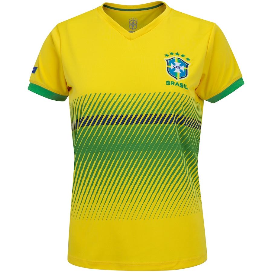 Camiseta da Seleção Brasileira Sublimada 2020 - Feminina