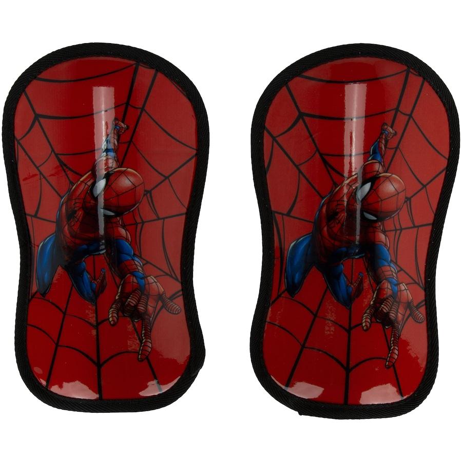 Caneleira de Futebol Infantil Marvel Homem Aranha