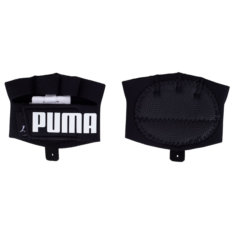 Luvas para Academia Puma Treino Protetor Palmar com Dedos Ess Grip Gloves - Adulto