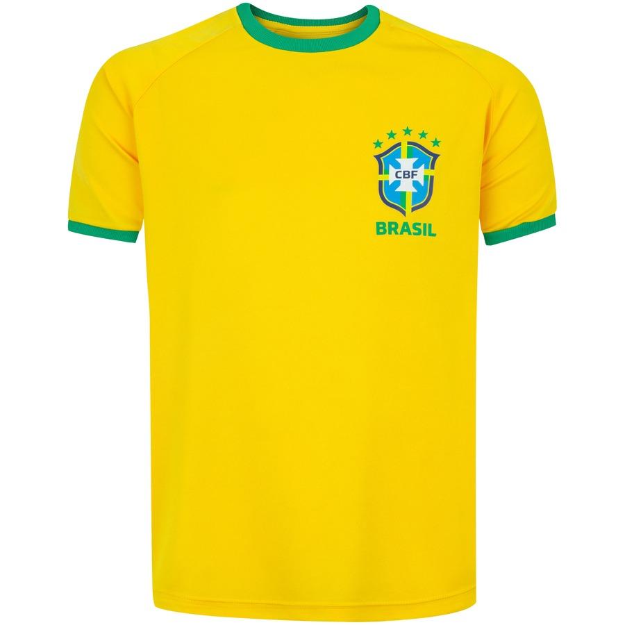 Camiseta Infantil CBF Fardamento
