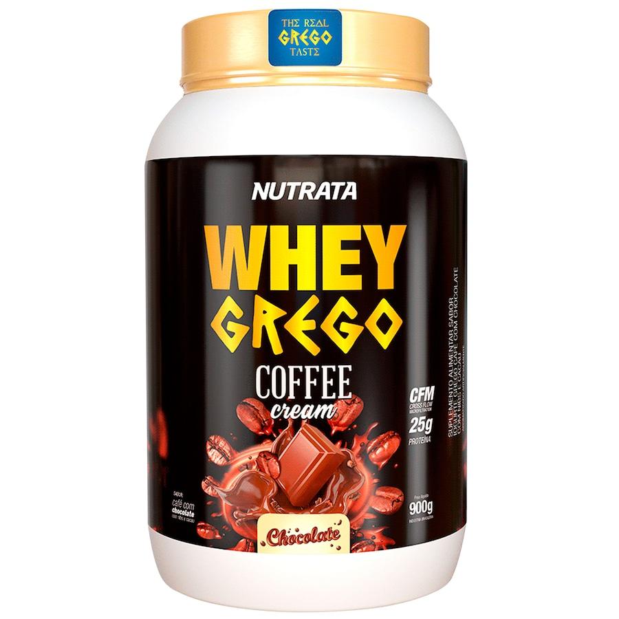 Whey Protein Nutrata Coffe Cream Chocolate Grego - 900g