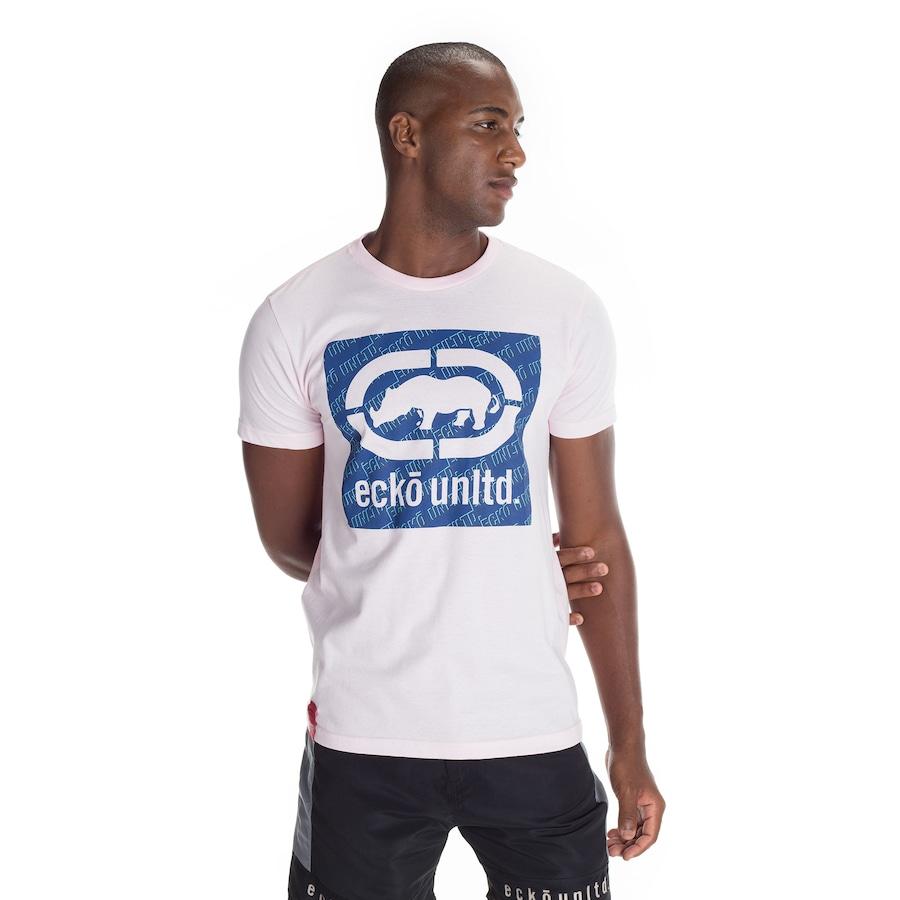 Camiseta Ecko Básica Estampada K021A - Masculina