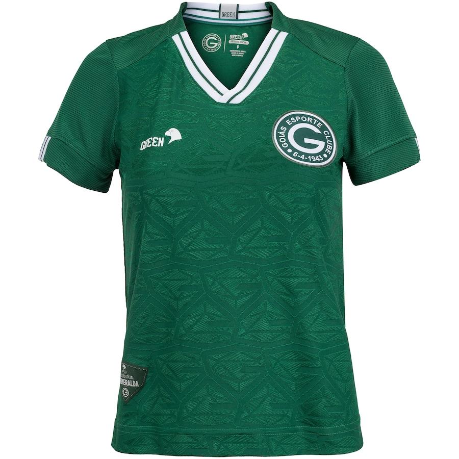 Camisa do Goiás I 2020 Green - Feminina