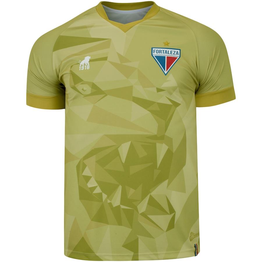 Camisa de Goleiro do Fortaleza III 2020 Leão - Masculina