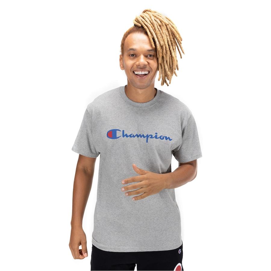 Camiseta Champion Script Logo - Masculina