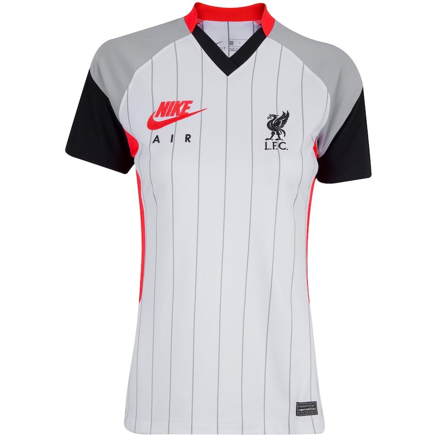 Camisa Liverpool Stadium 20/21 Nike - Feminina