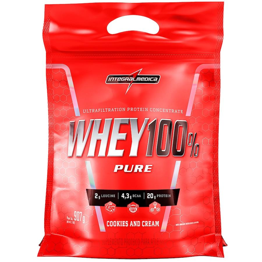 Whey Protein Integralmédica Cookies and Cream 100% Pure - 907g