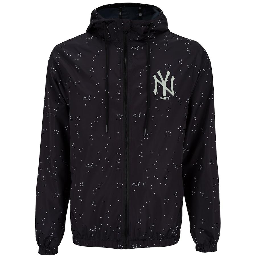 Jaqueta MLB New York Yankees Rave Space Glow com Capuz New Era - Masculina