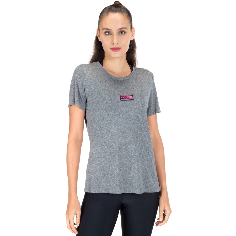 Camiseta Manga Curta Colcci Fitness - Feminina