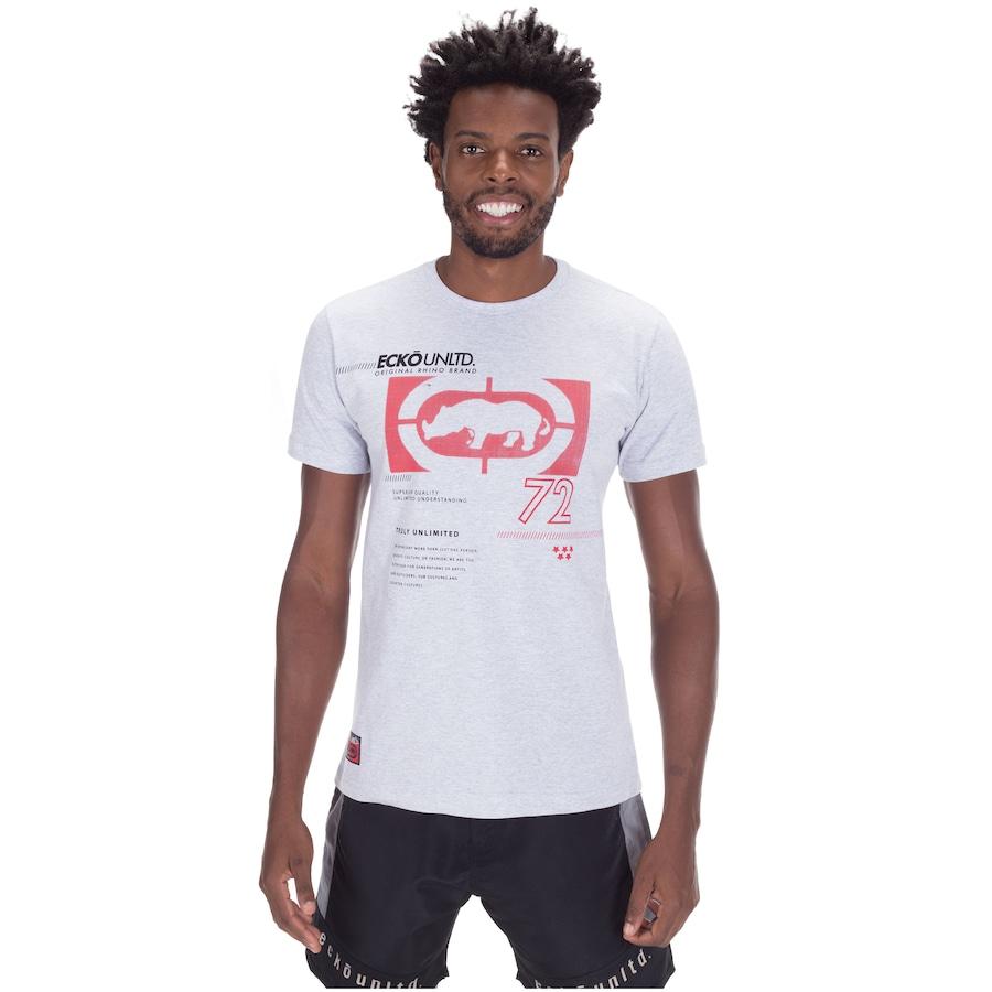 Camiseta Ecko Estampada K064A - Masculina