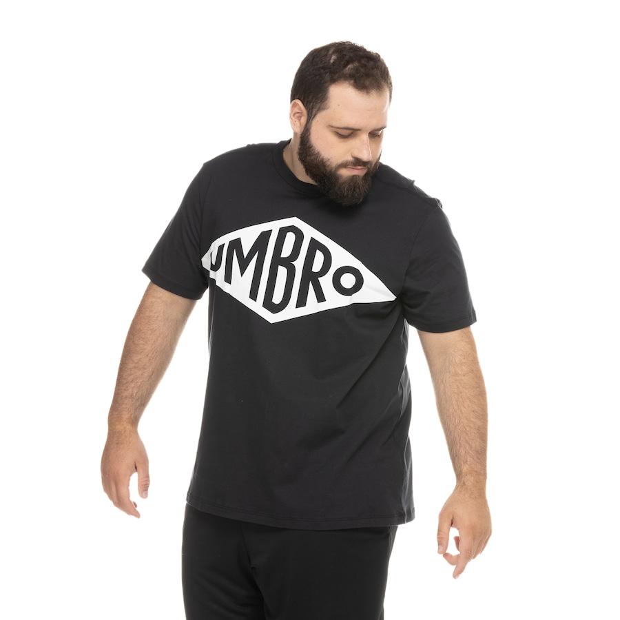 Camiseta Umbro Manga Curta Heritage - Masculina