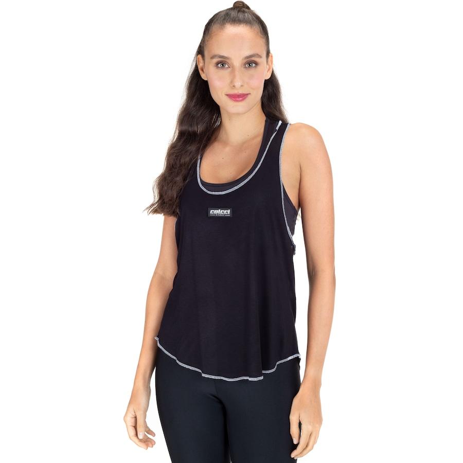 Camiseta Regata Colcci Barra Fraldada - Feminina