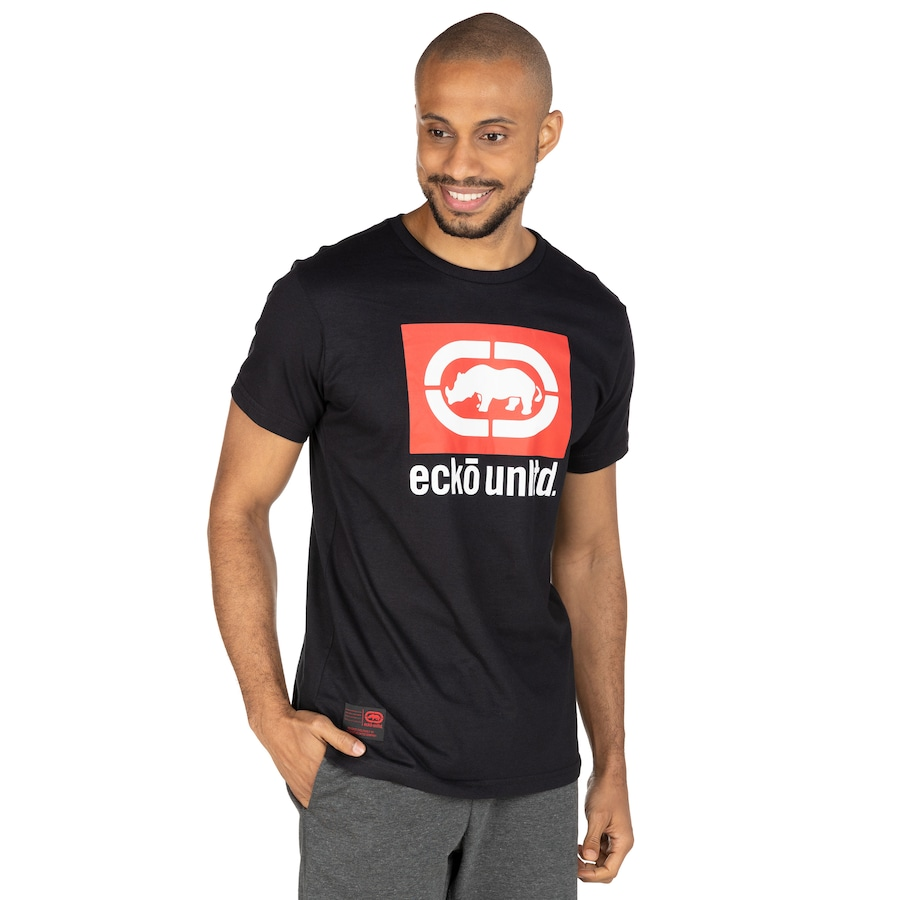 Camiseta Ecko Manga Curta Estampada K515A - Masculina