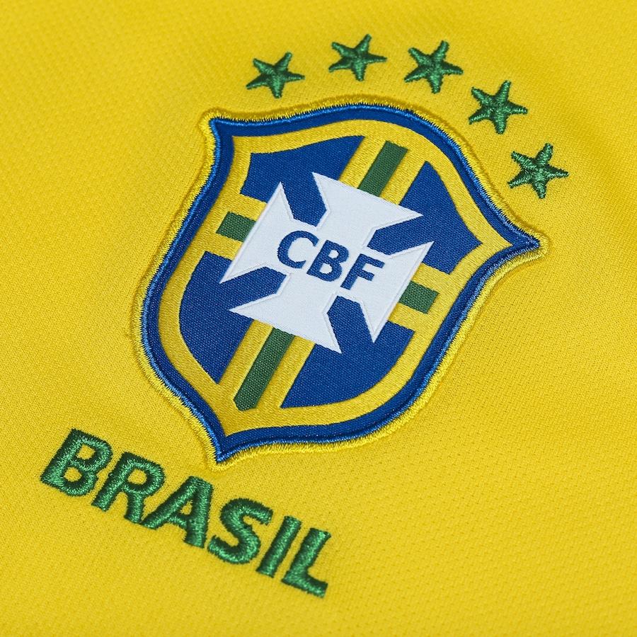 b2981ba650 Camisa da Seleção Brasileira I 2018 Nike nº 14 Danilo - Masculina