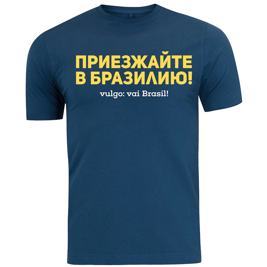 c994aae9ad Camiseta Adams - Masculina - Azul Escuro - Vai Brasil