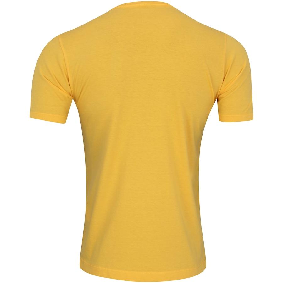 Camiseta Sérvia x Brasil II - Futebol 2018 - Adams - Amarelo - Masculina 01f24492d75d5
