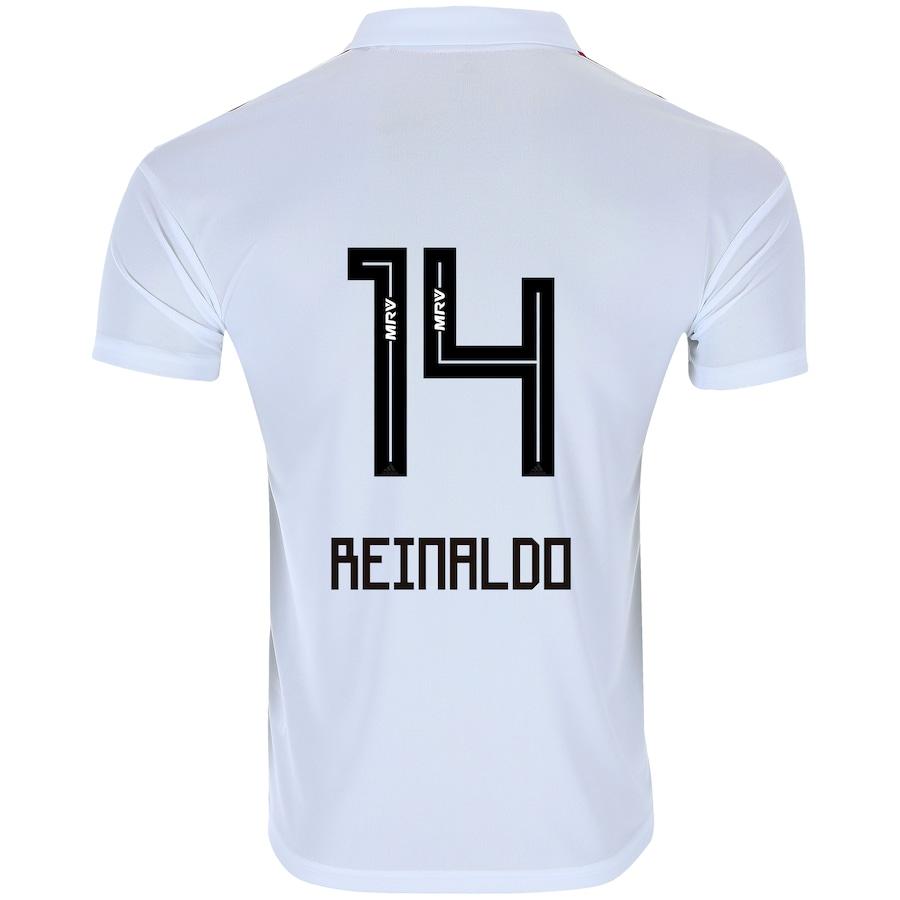 252b76eb4 Camisa do São Paulo I 2018 adidas - nº 14 Reinaldo- Masculina