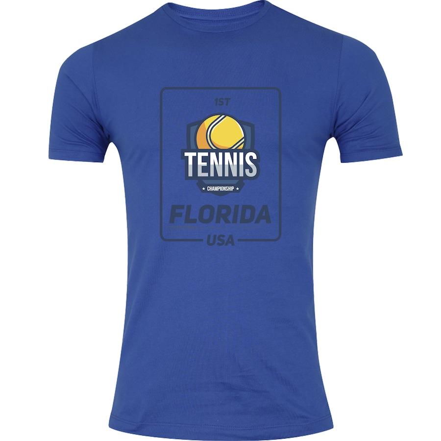 505a7b549 Camiseta Adams Tennis Florida Dark - Masculina