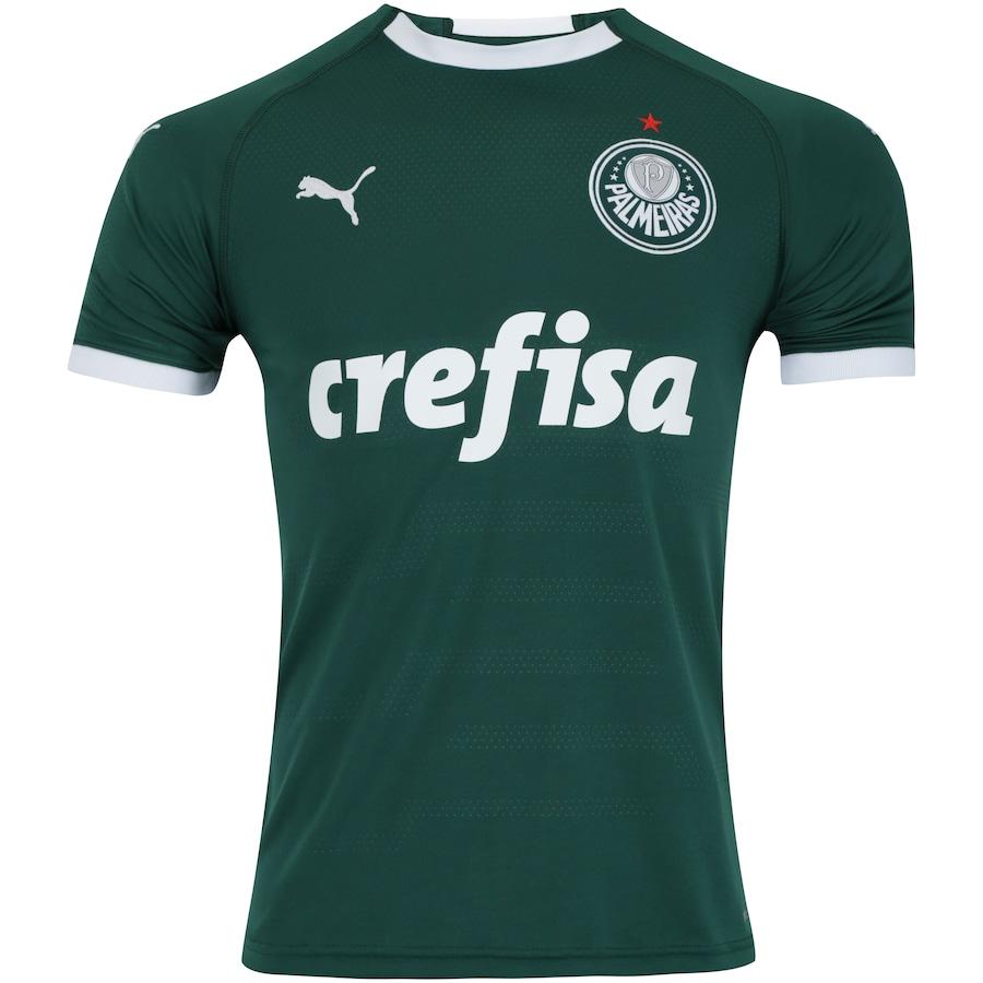 c1a966404c Camisa do Palmeiras I 2019 Puma - nº 11 Ricardo Goulart - Masculina