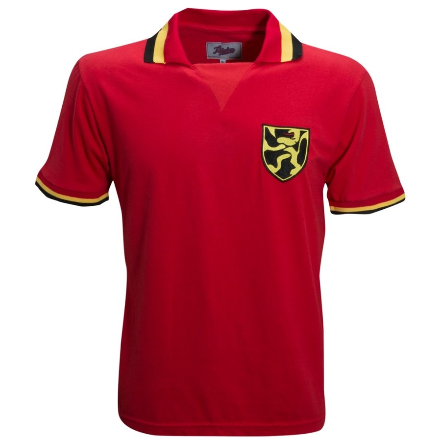 Camisa Liga Retrô Bélgica 1960 - Masculina c66e75e93456c
