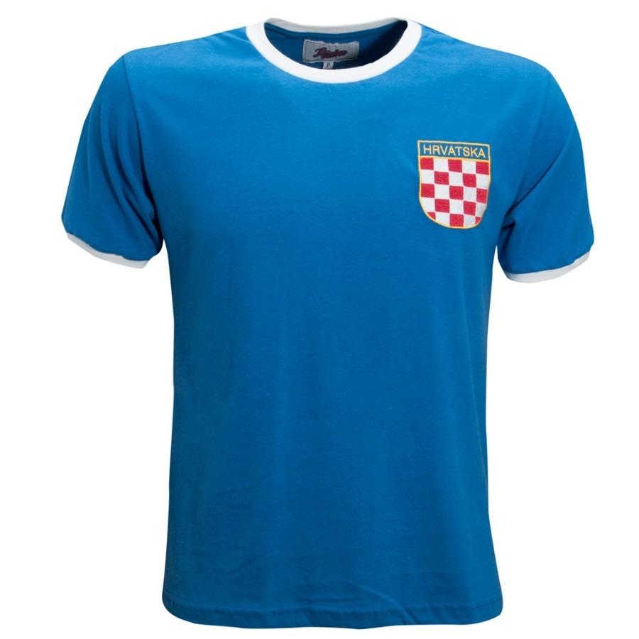 f6f9e522c8647 Camisa Retrô Croácia 1990´s