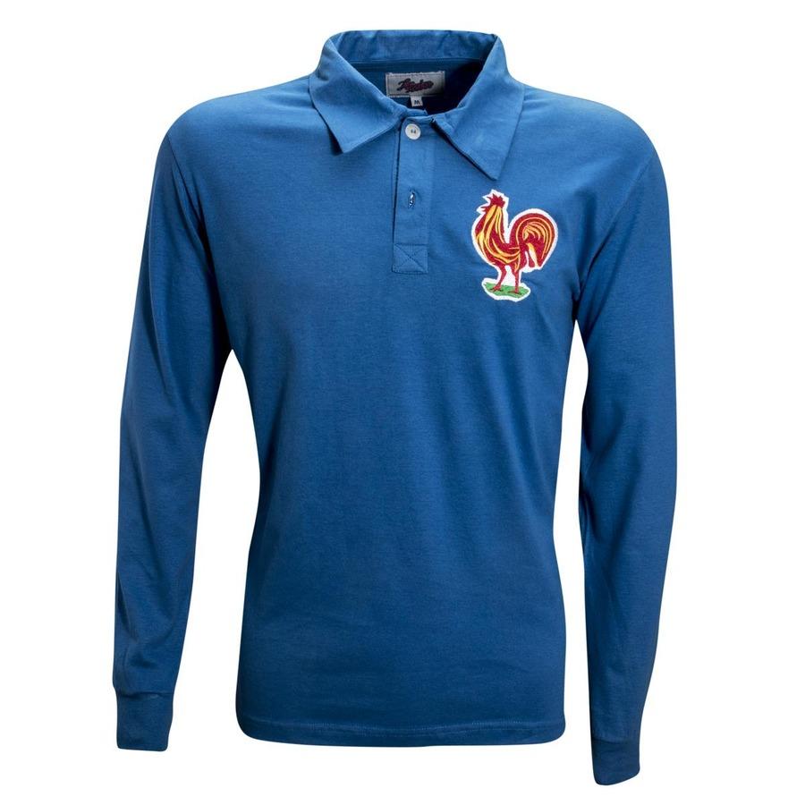Camiseta Retrô França 1958 - Masculina d6a9011273900