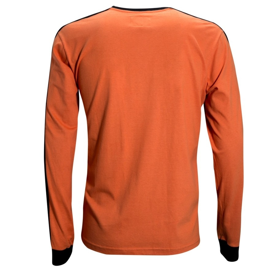 Camisa Manga Longa Liga Retrô Holanda 1978 - Masculina 3f1a34446d63c