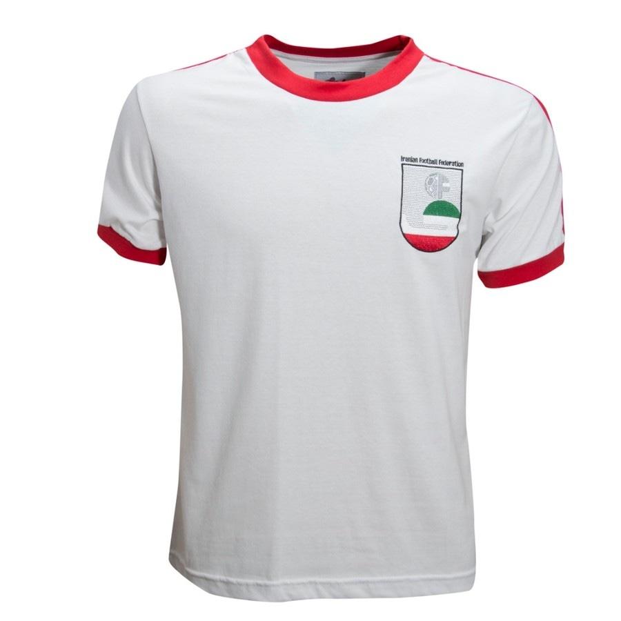 a0349abd9f Camisa Retrô Irã 1978