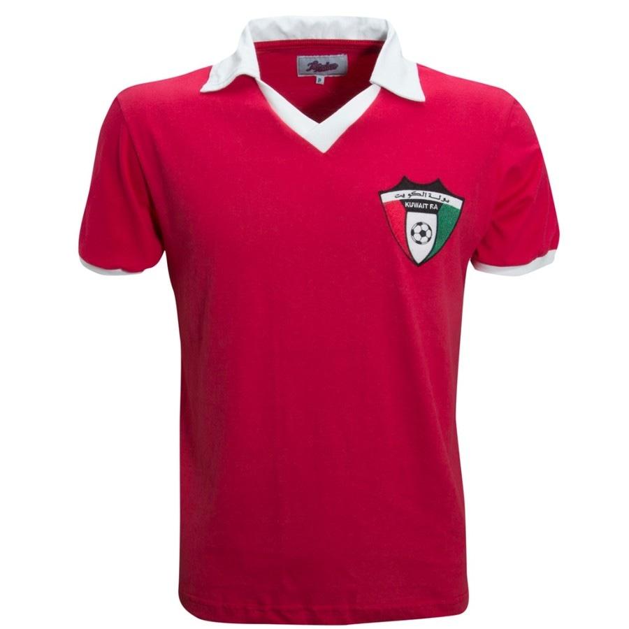 b8974845ca Camisa Retrô Kuwait 1982