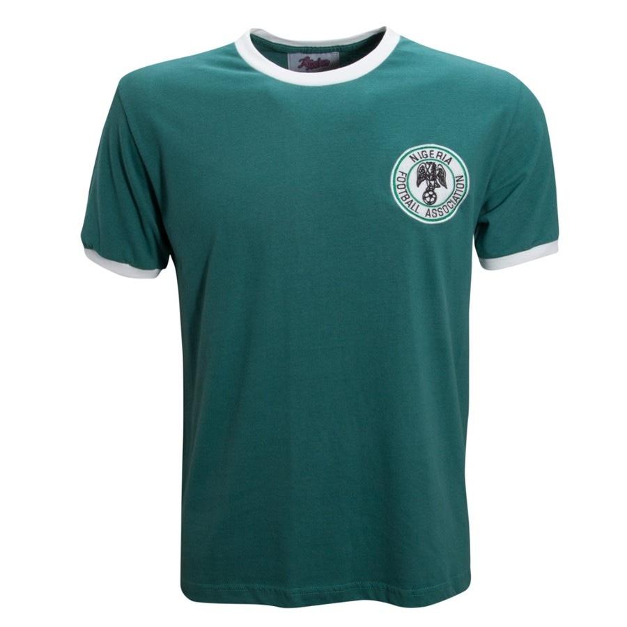 16e62dc6f8d83 Camisa Retrô Nigéria 1976