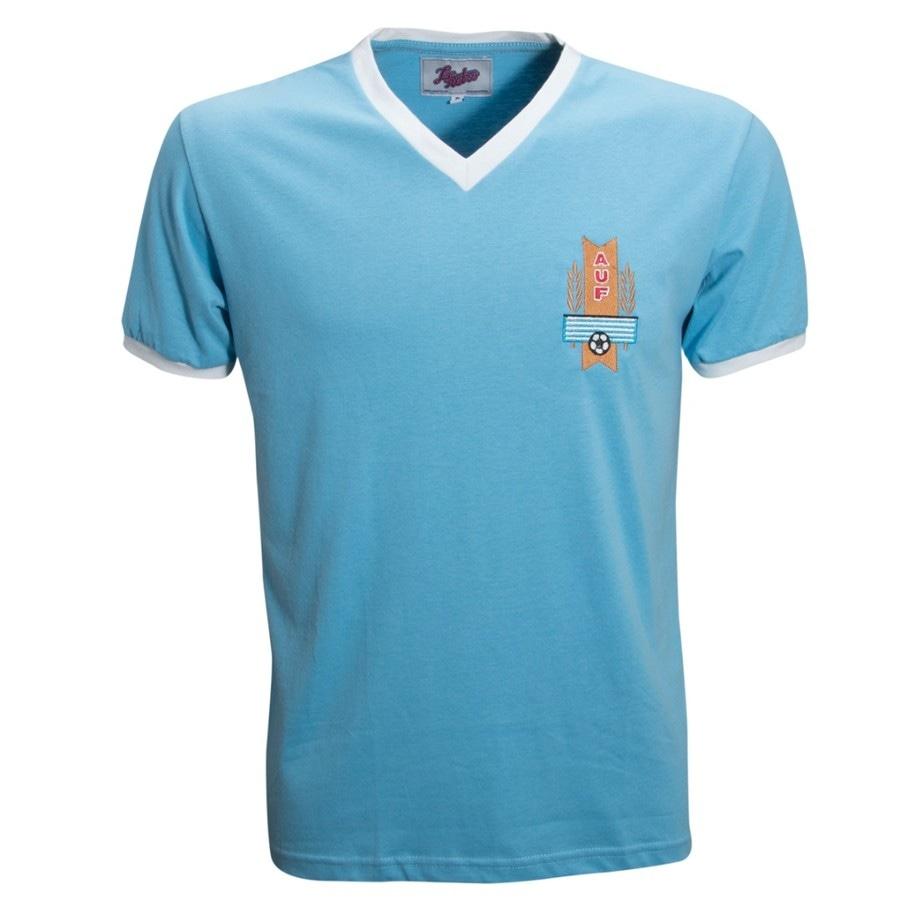 Camisa Retrô Uruguai 1950 104762f033df0