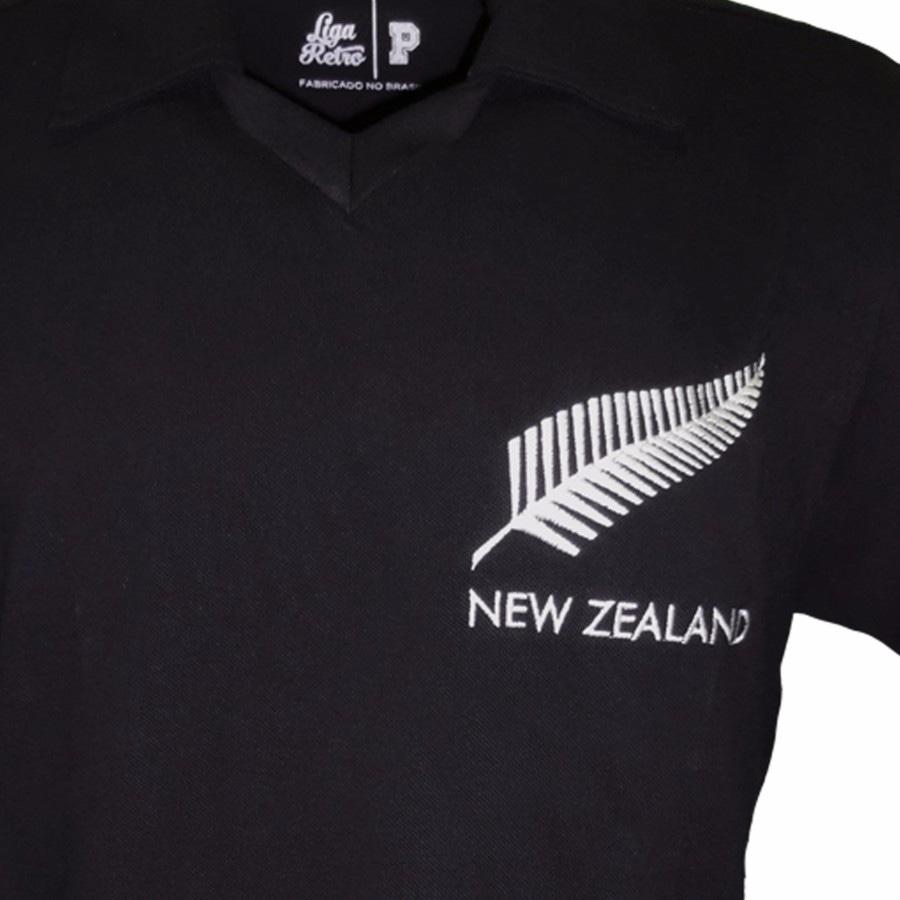 014e8081d Camisa Retrô Nova Zelandia Rugby