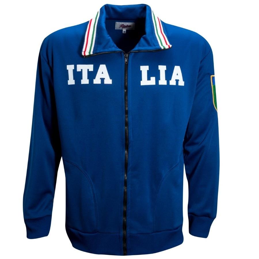 d8c6d3aa1ba9e Jaqueta Liga Retrô Itália 1982 - Masculina
