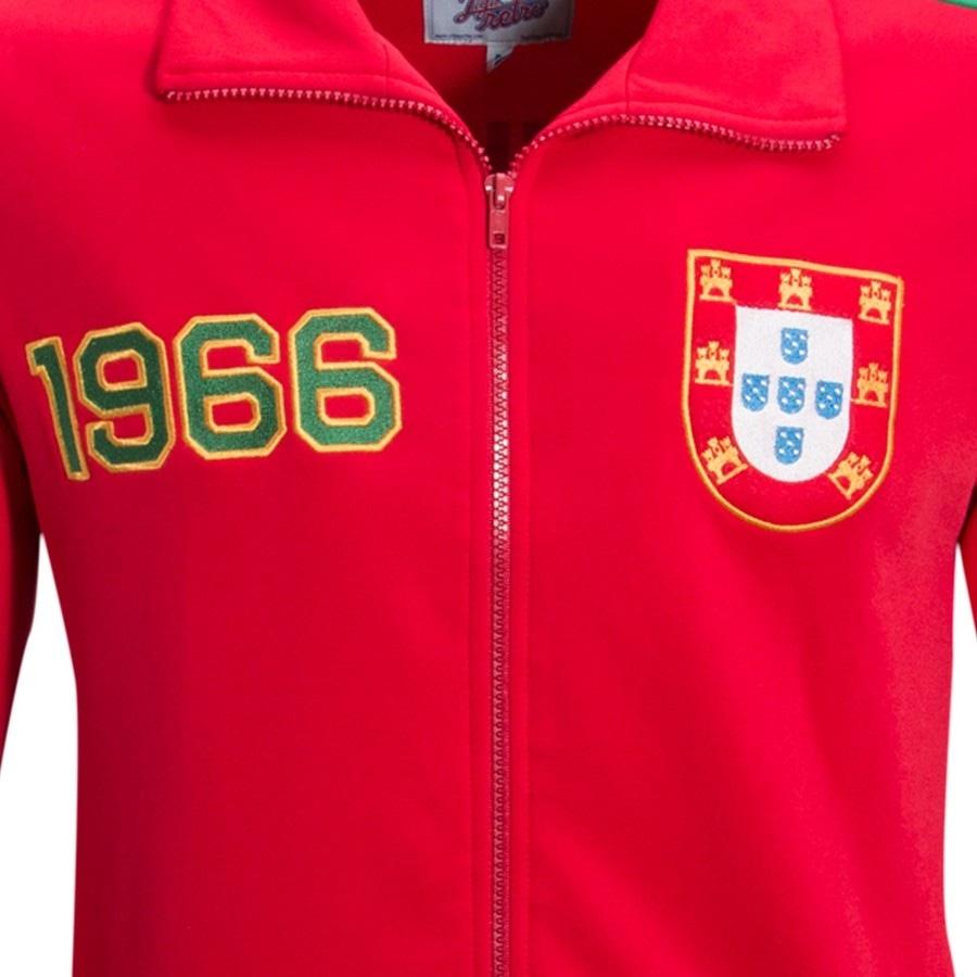 Jaqueta Liga Retrô Portugal 1966 - Masculina b2837d1050e50