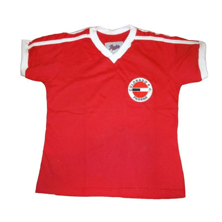 Camiseta Liga Retrô Colorado 1980 - Infantil c67cccc282e4b