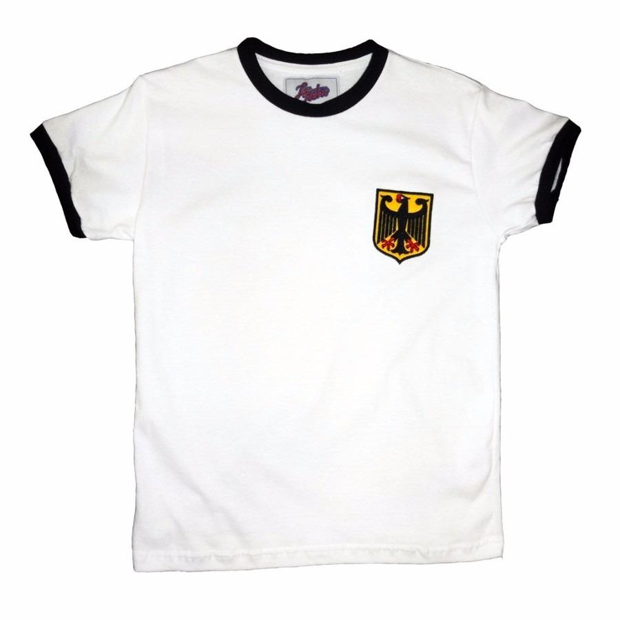 e5e82ece57 Camisa Liga Retrô Alemanha 1974 Infantil