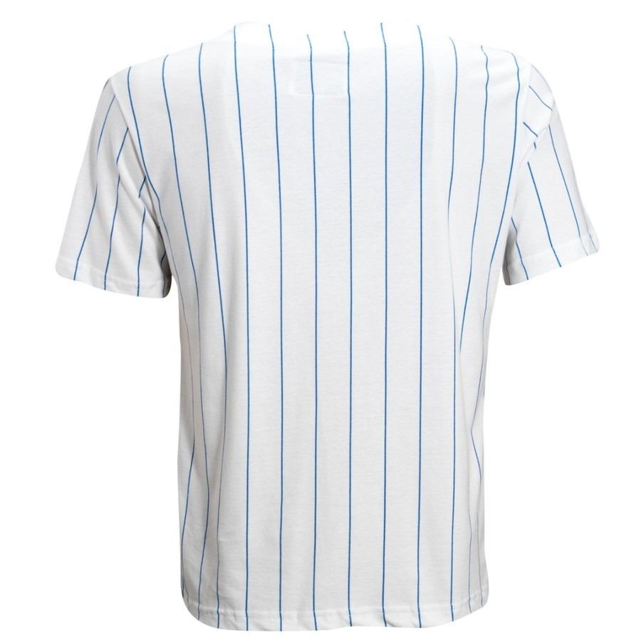 Camiseta Liga Retrô New York Baseball - Masculina d143e4eff87