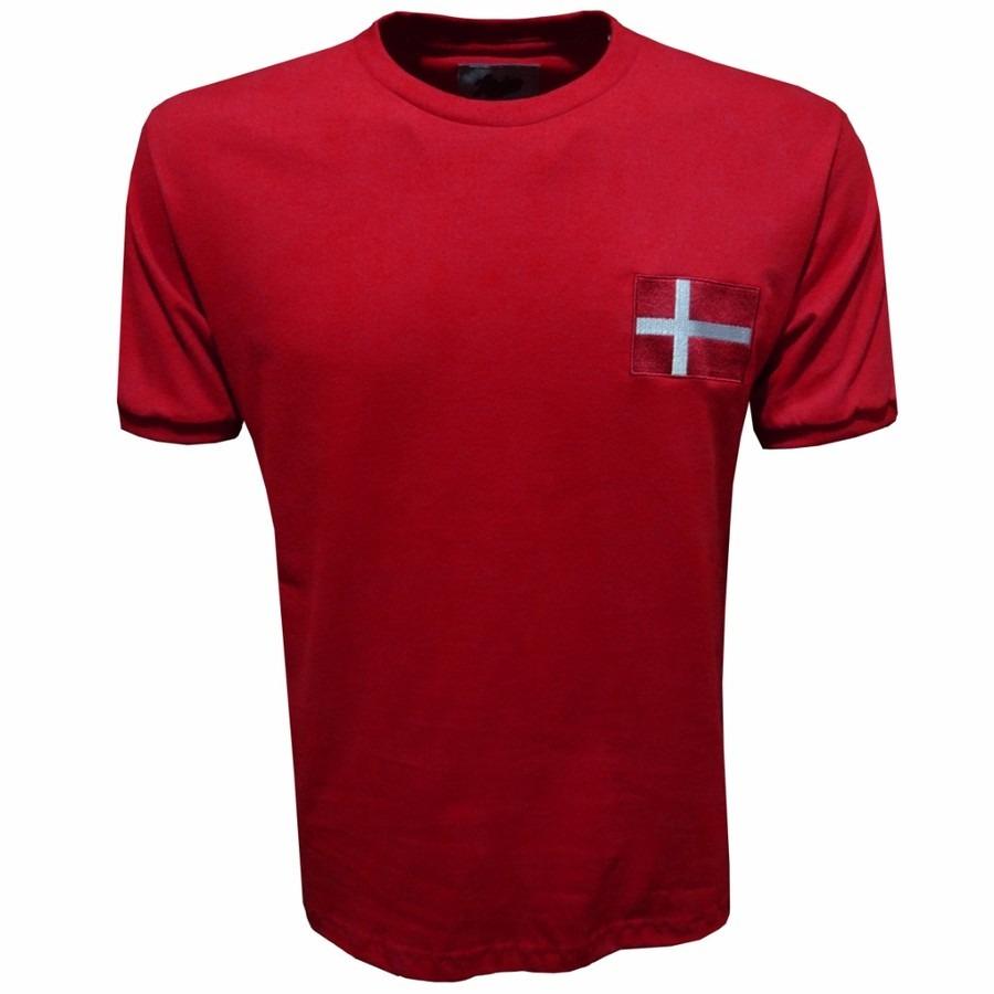 Camisa Liga Retrô Dinamarca 1970 ab1be78fccdc7