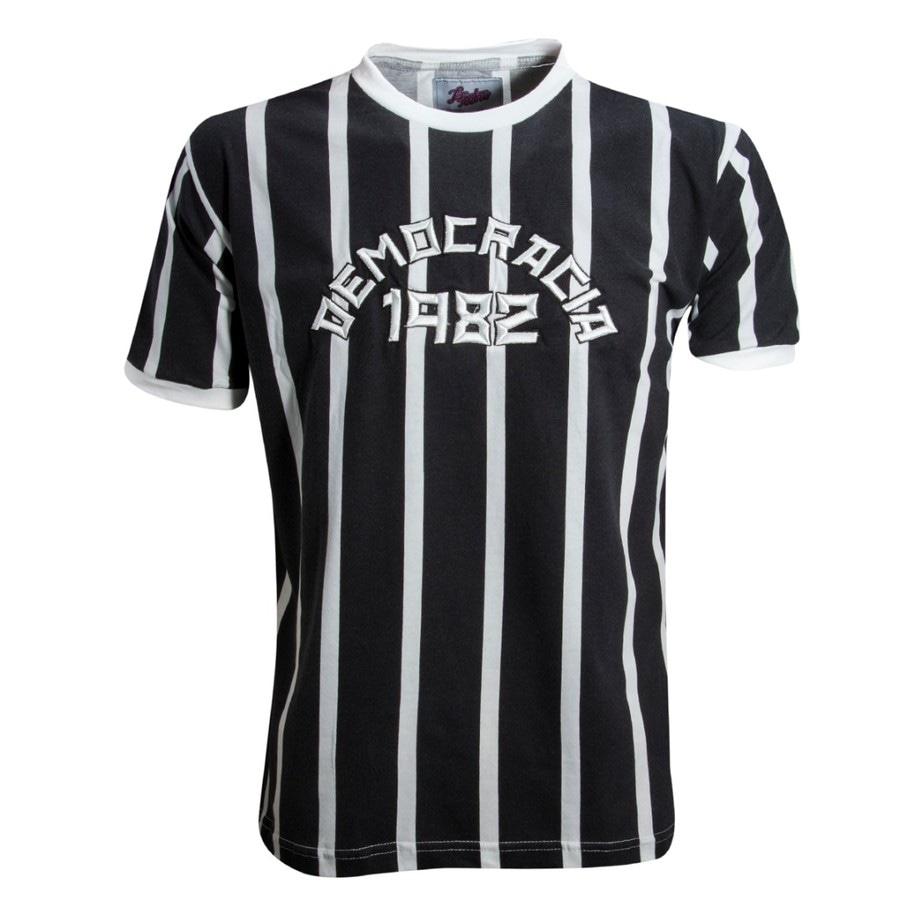 Camisa Liga Retrô Democracia 1982 0bdd27262dbb8