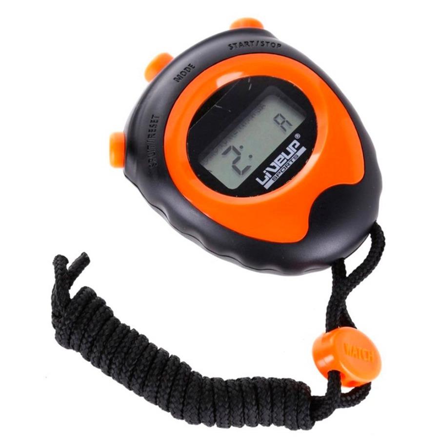 Cronômetro LIVEUP LS3193 com Alarme - Marcador de Hora e Data à Prova de  Água 77ab9aecb9d69