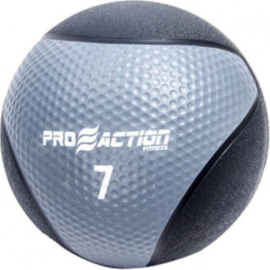Medicine Ball 7 Kilos Feita de Material Emborrachado Proaction G194 5176a8f51b