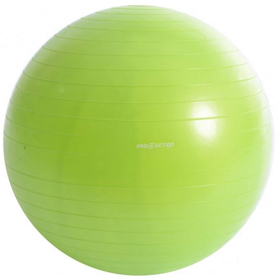 Bola de Pilates Suiça Pro Action G124 Gym Ball Anti Estouro - 55cm debee560b16e8