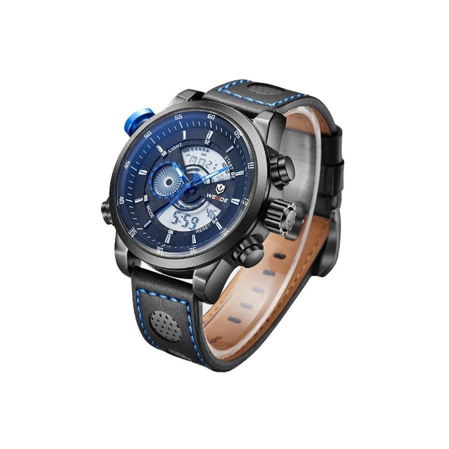 558ef6a63c9 Relógio Weide Anadigi WH-3401-C PT-AZ