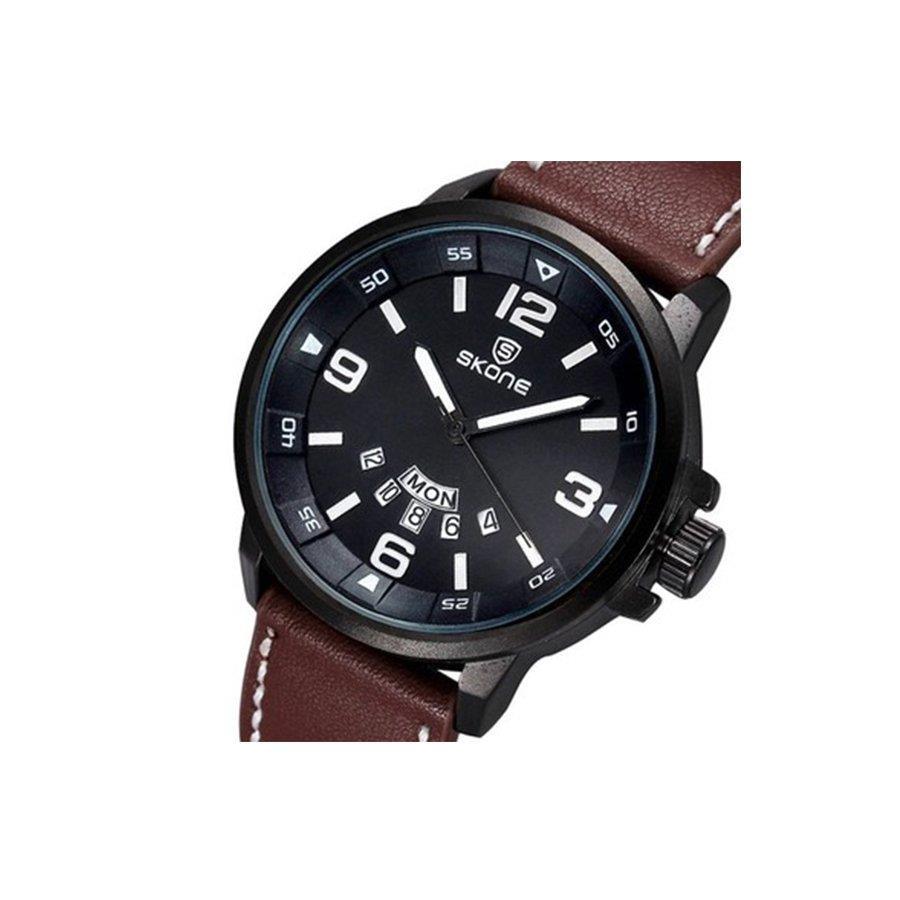 839899f866b ... Relógio Analógico Skone 9345AG - Masculino. Imagem ampliada ...