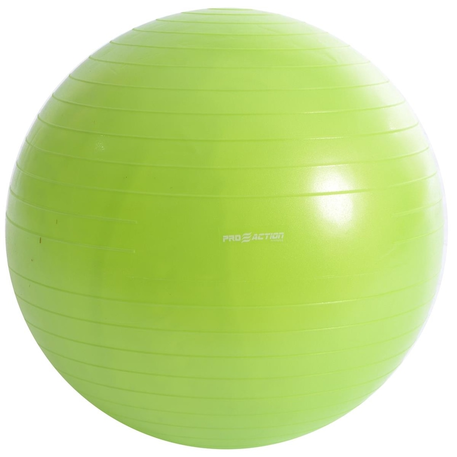 Bola de Pilates Suiça Pro Action Gym Ball Anti Estouro 9fae18c715307
