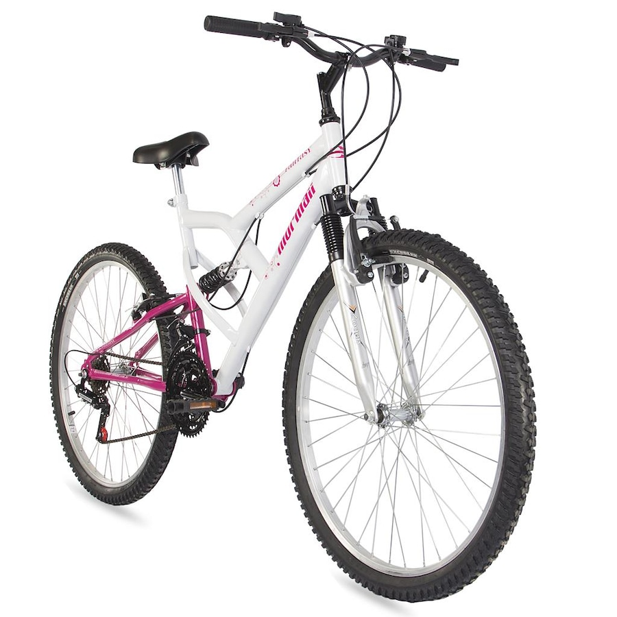 Mountain Bike Mormaii Fantasy Full - Aro 26 - Freio V-Brake - 18M - Feminina 01eef3ed5e
