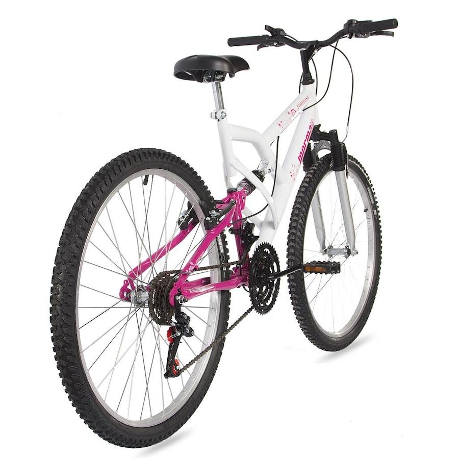 Mountain Bike Mormaii Fantasy Full - Aro 26 - Freio V-Brake - 18M - Feminina ee3b3d4543