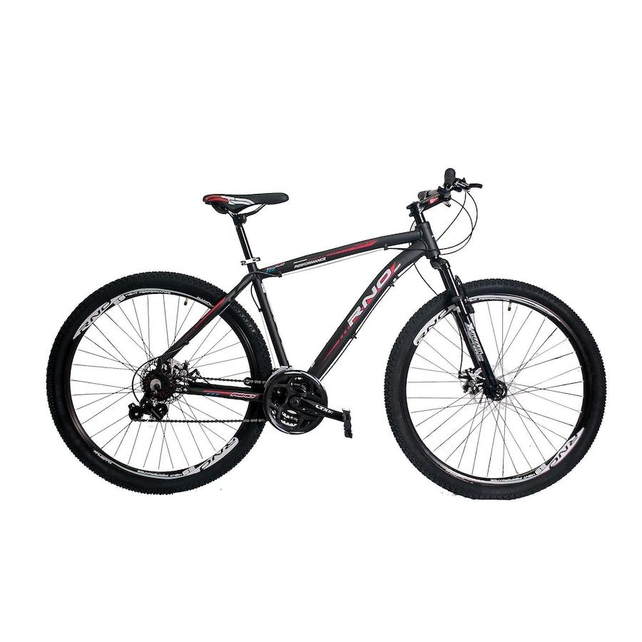 45b866641 Bicicleta Rino - Aro 29 - Câmbios Shimano - Freio a Disco - 24 Marchas -  Adulto
