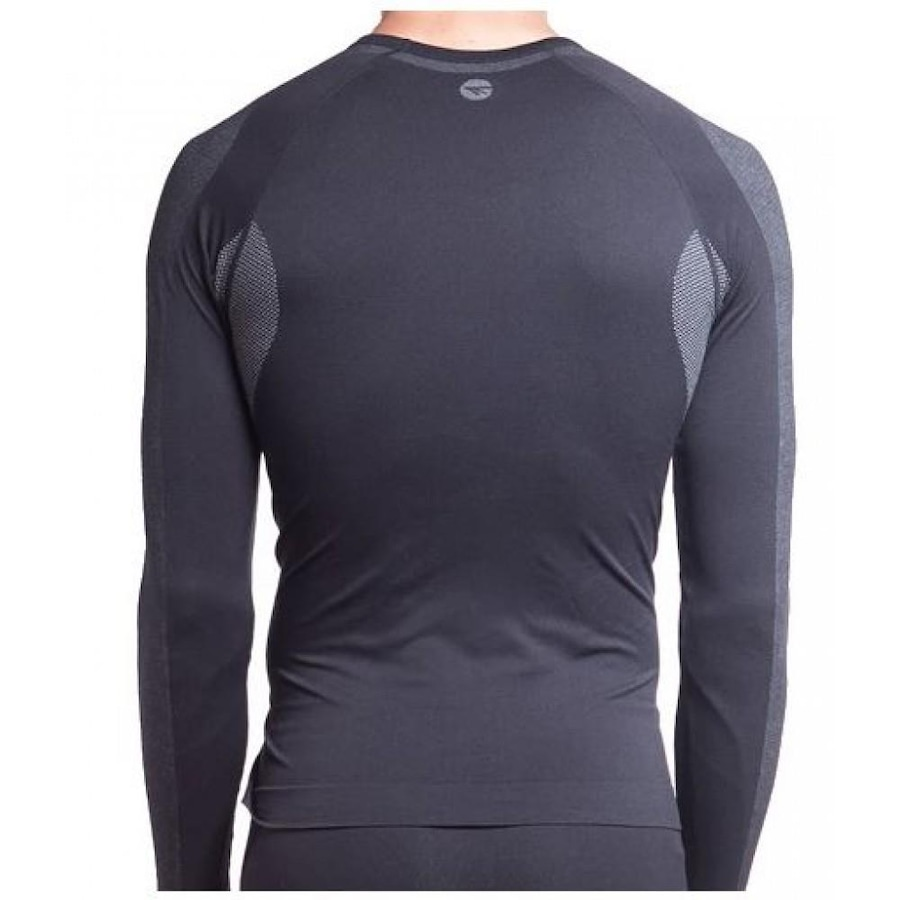 23f931596 Camisa Manga Longa Segunda Pele Hi-Tec Calipso - Masculina