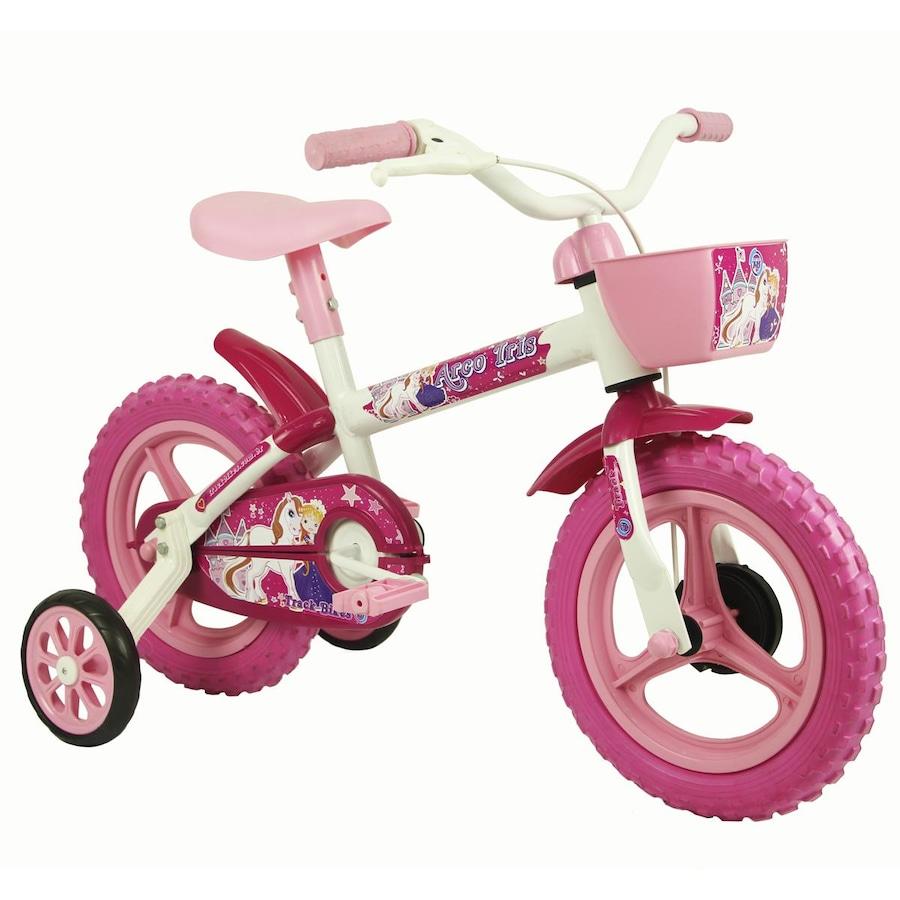 Bicicleta Track Bikes Arco Iris - Aro 12 - Infantil d6e1830255001